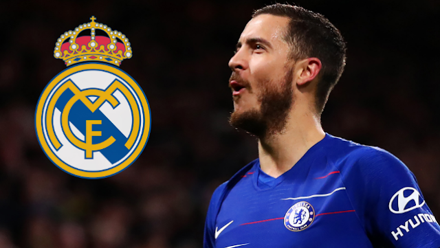 Eden Hazard set to finish Real Madrid move as Chelsea acknowledge £88m offer.