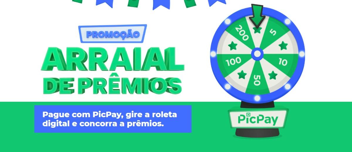 Promoção Arraial de Prêmios Pic Pay
