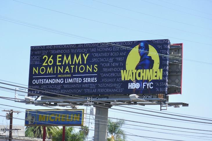 Watchmen 2020 Emmy nominee billboard