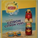 Lipton poster as an unfortunate example of casual sexism