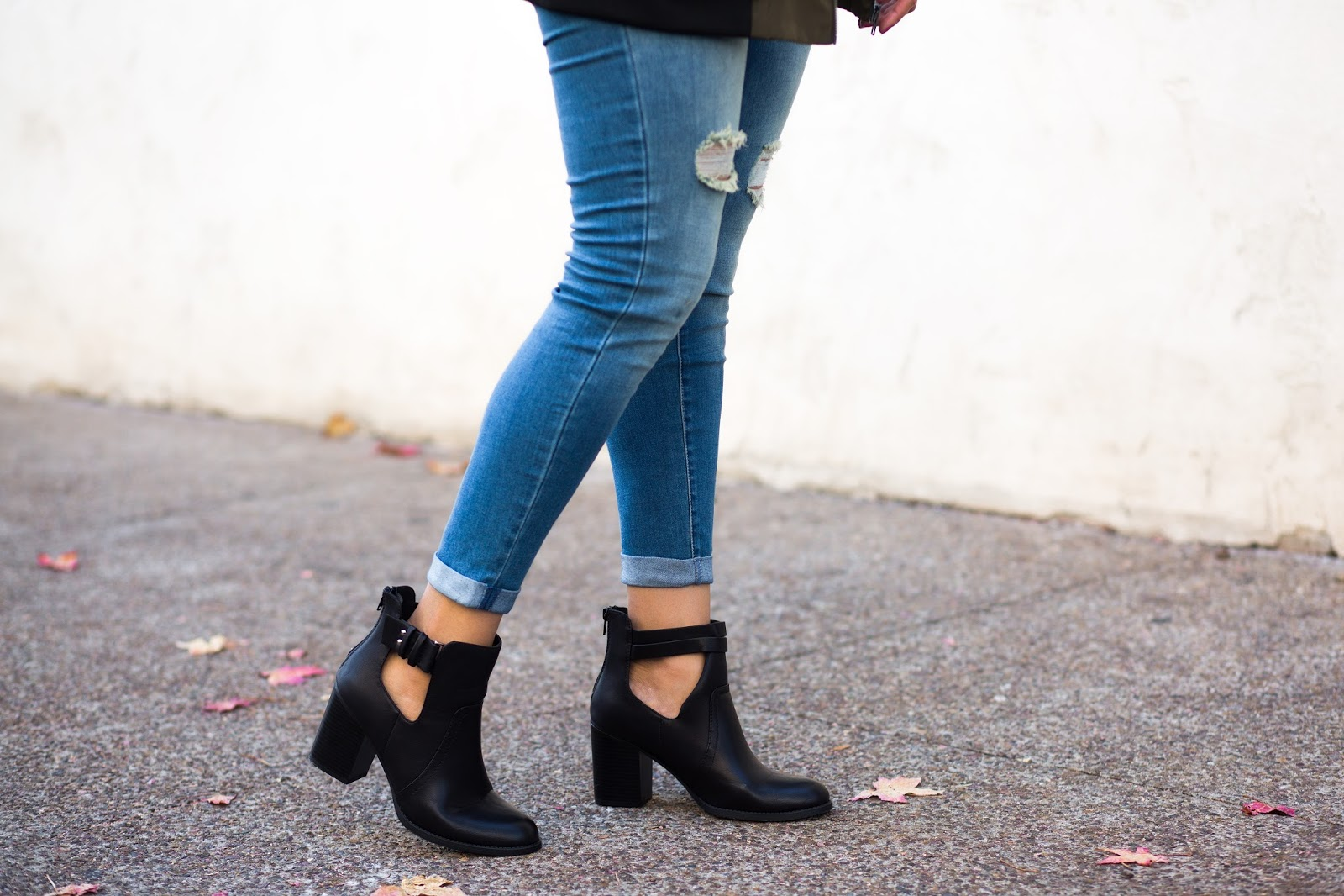 cut-out booties, affordable fall shoes, fall boots 2016, cool casual boots for fall