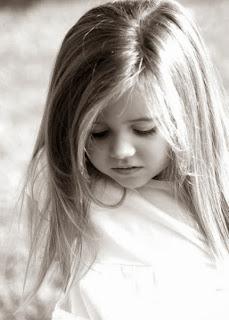 small cute girl smile