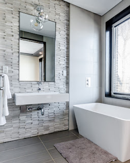 Contemporary bathroom remodel