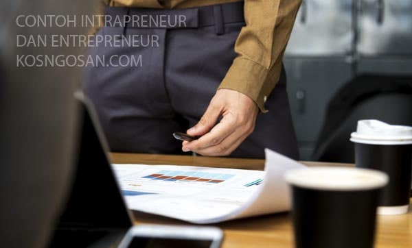 contoh intrapreneur entrepreneur