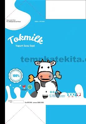 Download Desain Kemasan Produk Minuman Susu Coreldraw Dan Photohsop