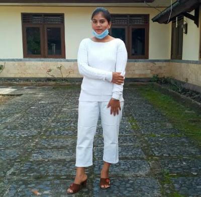 Magdalena Kadi (anggota biasa PMKRI Mataram)