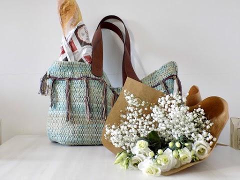 Boho τσάντα από κουρελού!!! Φτιαξτην μονη σου!!