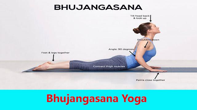 Bhujangasana yoga steps and benefits