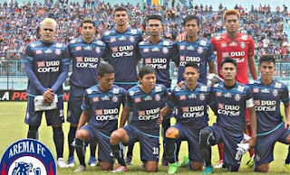 Arema FC Bawa 20 Pemain untuk Hadapi Persib Bandung