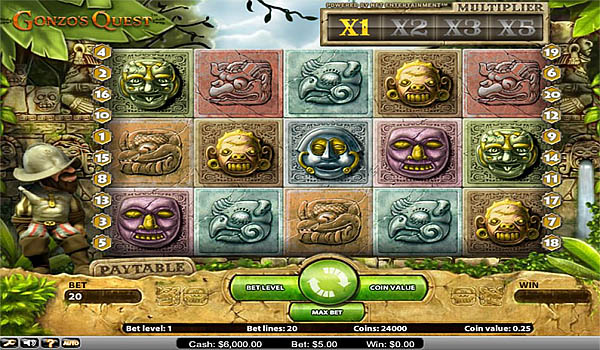 Main Gratis Slot Indonesia - Gonzo's Quest NetEnt