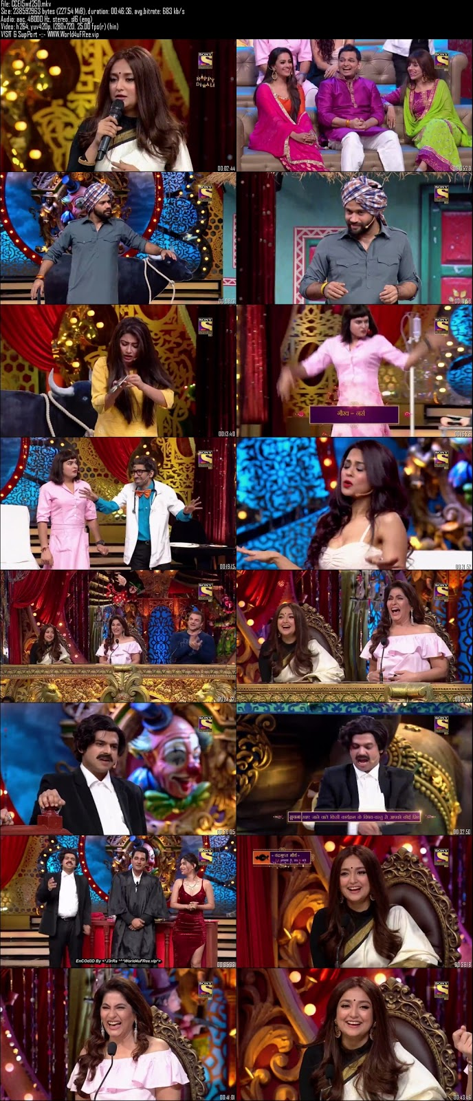 Comedy Circus 2018 Episode 15 720p WEBRip 250mb x264 world4ufree.fun tv show Comedy Circus 2018 hindi tv show Comedy Circus 2018 Season 1 sony tv show compressed small size free download or watch online at world4ufree.fun