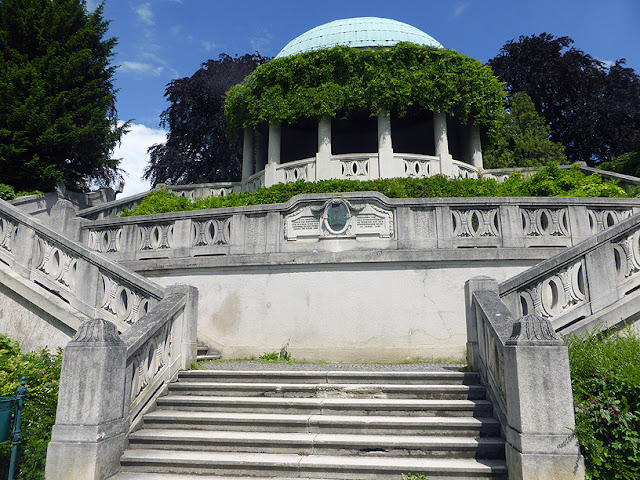 Le Beethoven Tempel dans le Kurpark / photo S. Mazars