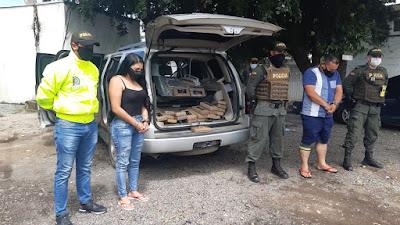 hoyennoticia.com, Llevaban 26 mil gramos de cocaína