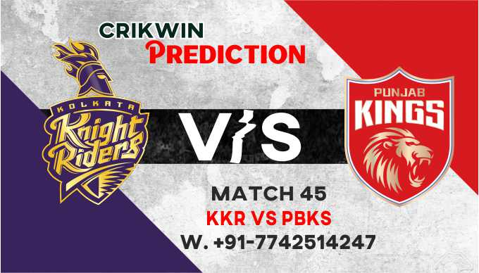 Kolkatta vs Punjab IPL T20 45th Match Today 100% Match Prediction Who will win - Cricfrog