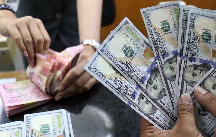 Sikap The Fed Bawa Rupiah Menguat ke Rp14.178 per Dolar AS - Portal Dunia