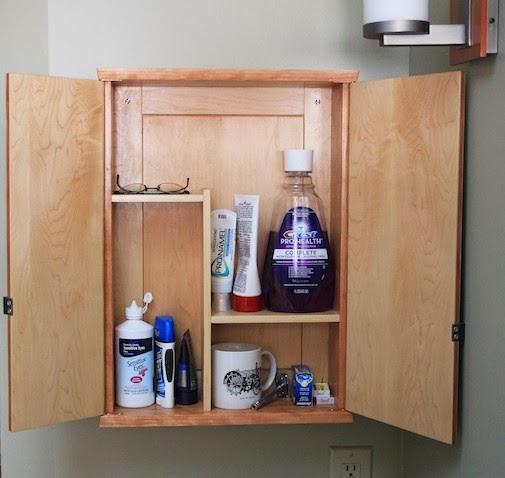 Project Denneler: Modern Medicine Cabinet