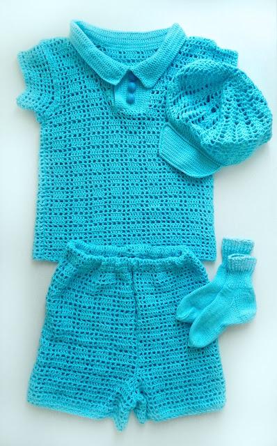 одежда для мальчика крючком
