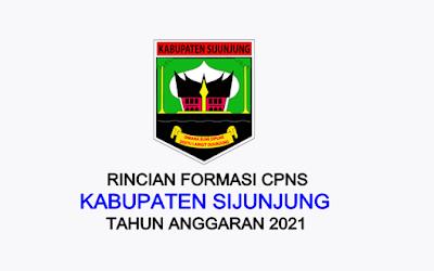 Formasi CPNS Kabupaten Sijunjung Tahun 2021