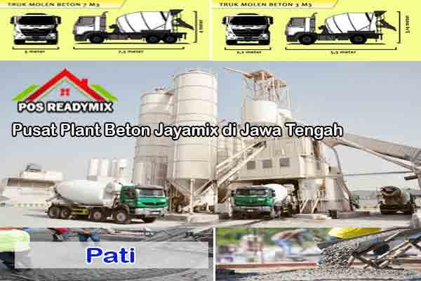 Harga Cor Beton Jayamix Pati Per m3 Terbaru 2021