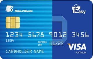 Bank of Baroda Easy Credit Card