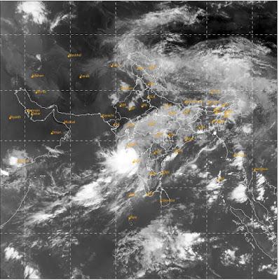 Nisarga Cyclone Live Tracking