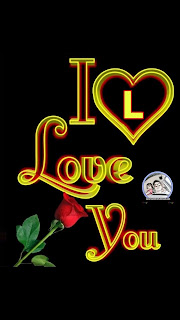 i love you l nameart