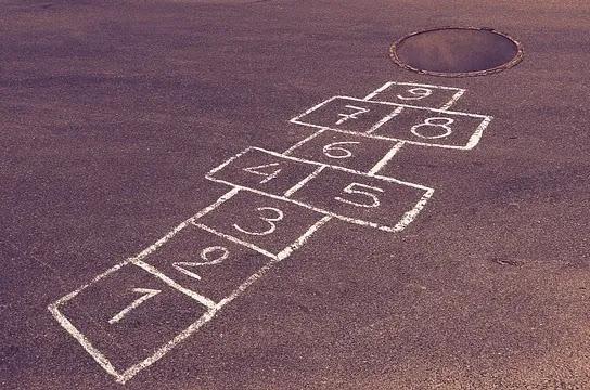 aprende ingles juego la rayuela hopscotch