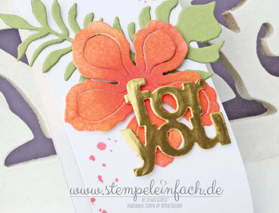 Stampin up Pflanzen-Potpourri