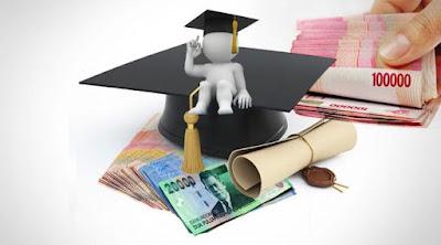 Pusing biaya kuliah