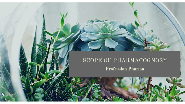 The scope of Pharmacognosy