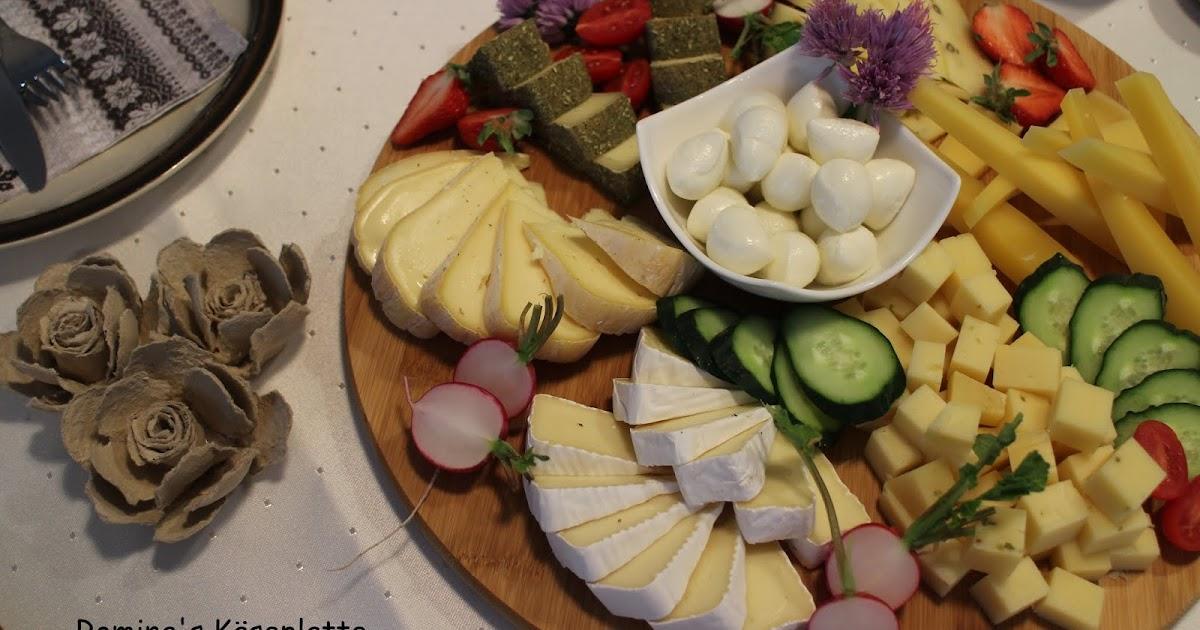 Käseplatte mit Pfiff - nach Romina