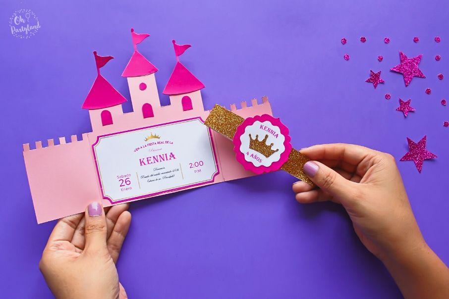 princess-castle-invitation
