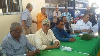 Ministro Agricultura se reúne con Asociaciones de Ganaderos provincia Dajabón.