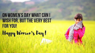 Happy women's day wishes for sister