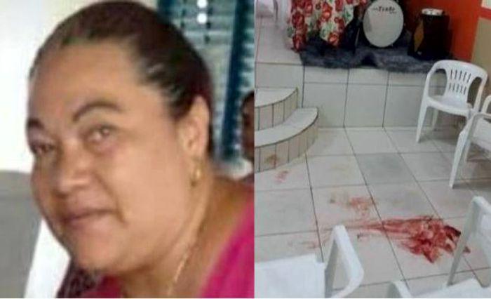PASTORA É EXECUTADA POR EX-MARIDO DENTRO DA IGREJA DURANTE UM CULTO EVANGÉLIC0 – VEJA..