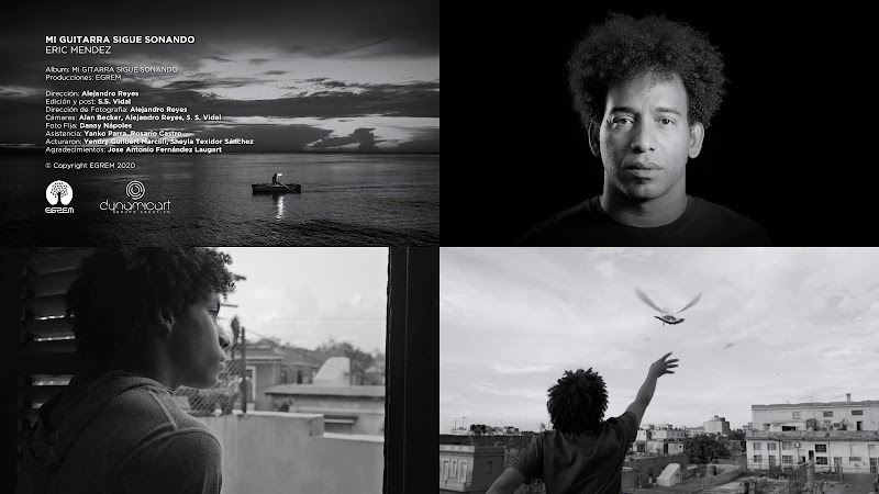 Eric Méndez - ¨Mi guitarra sigue sonando¨ - Videoclip - Director: Alejandro Reyes. Portal Del Vídeo Clip Cubano. Música cubana. Cuba.