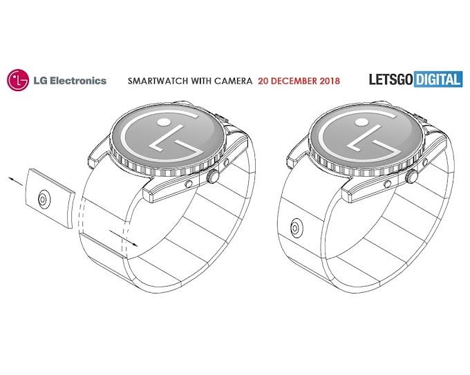 LG planea tres diseños diferentes para un smartwatch con cámara integrada