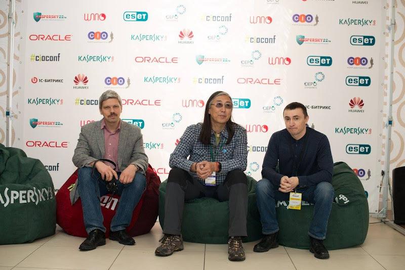 Олег Бартунов и Иван Панченко выступили с докладом на IV конференции клуба ИТ-директоров Алтая