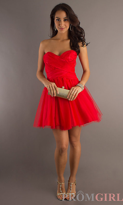 Red Short Formal Dresses 2014 - Gallery Fusion