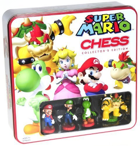 U S of A Monopoly Games Super Mario Themed Chess Set ...