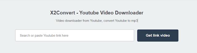 موقع x2convert تحميل الفيديو يوتيوب .