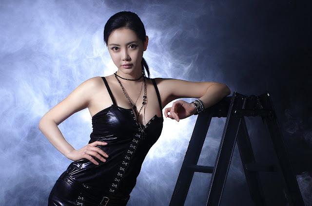 Model Cantik Korea Min Soo Ah