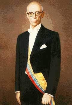 Presidente Jose María Velasco Ibarra Ecuador