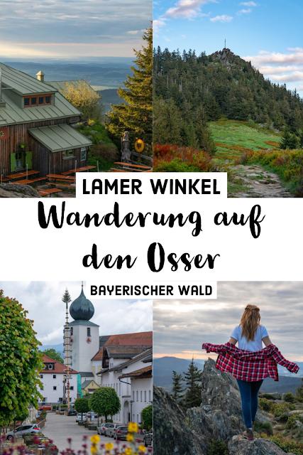 Künischer Grenzweg auf den Osser Wanderweg La1 im Lamer Winkel Wandern im Bayerischen Wald 30