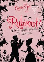Cover: Rubinrot. Liebe geht durch alle Zeiten