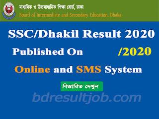 SSC Dakhil Examination Result 2020