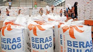 sumbar memiliki stok 11 ribu ton beras bulog