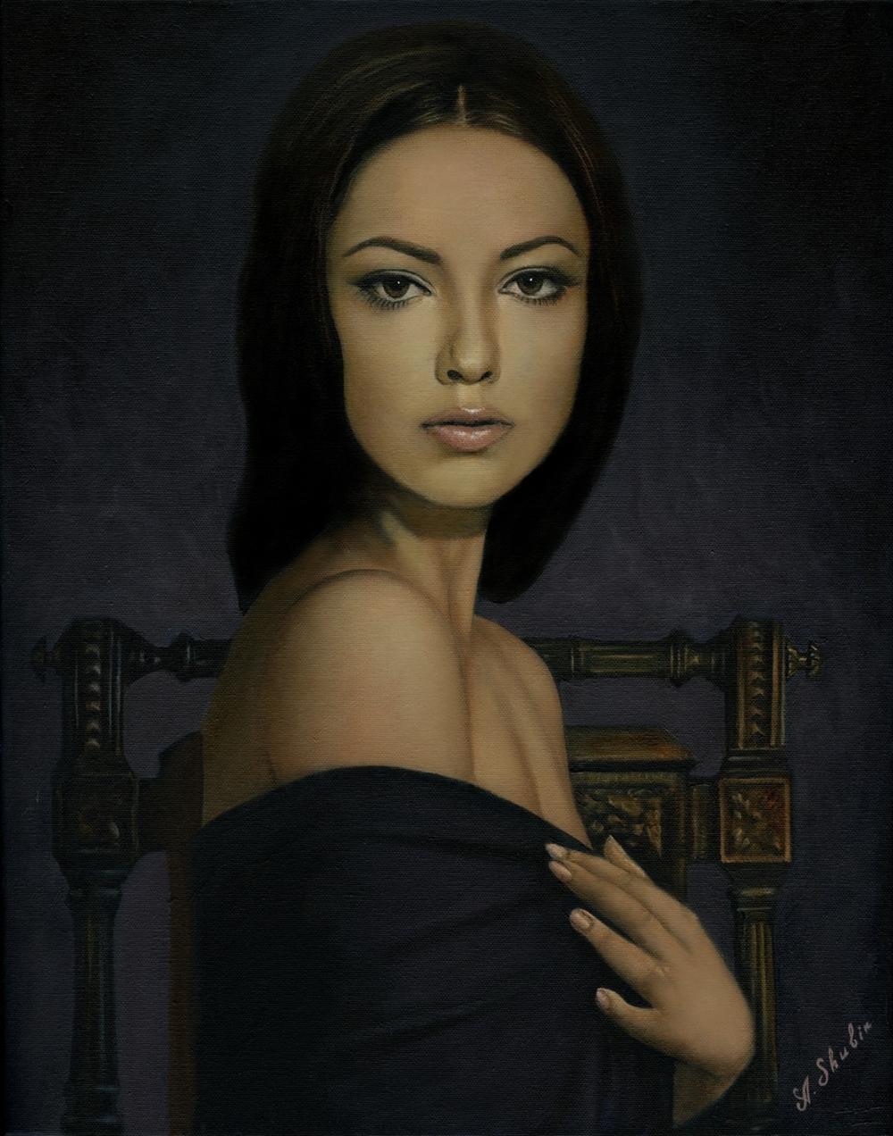 Oligar Modern Russian Woman Portrait 49