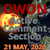 Active Comment Section    21 May - current