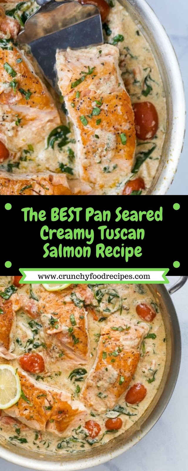 The Best Pan Seared Creamy Tuscan Salmon Recipe